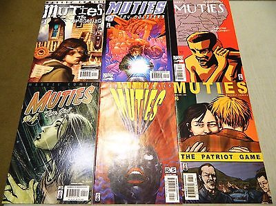 Muties 1 2 3 4 5 6 X-Men Comics Set Marvel Stories Of Mutants Peter Furguson