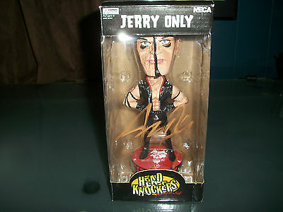 Jerry Only SIGNED Misfits Official Neca Bobblehead Toy Action Figure Punk Rock