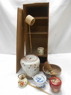 Tea Set Japanese Tea Ceremony Traditional Vintage #76