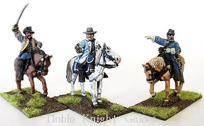 Perry ACW Mini 28mm Confederate Generals Mounted Pack MINT