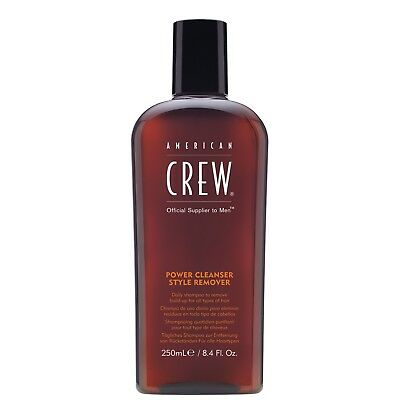 American Crew Haircare Power Cleanse Style Remover Shampoo 250ml for men