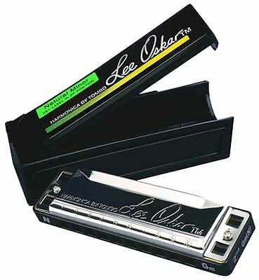 Lee Oskar Natural Minor Harmonica With Case 12 Keys Available