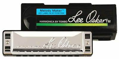 Lee Oskar Melody Maker Harmonica With Case 14 Keys Available