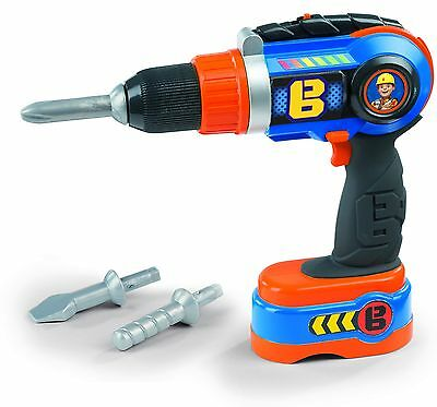 Smoby Bob The Builder Toy Drill New Free Post