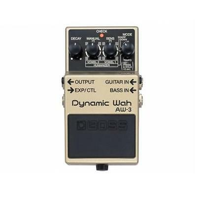 Boss Aw3 Dynamic Wah Pedale Effetto Wah Pedale Effetto Auto Wha Wha E Humanizer