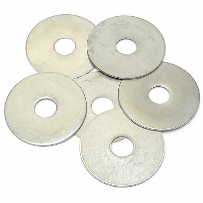 "Fender Washer 1/2"" x 2"" x .06"" 18-8 Stainless Steel, 50pcs"