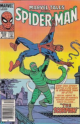 1983 Marvel Tales Comic Book #158 Featuring The Amazing Spider-Man