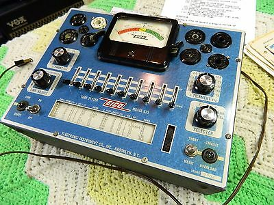EICO 625 Tube Tester with Extras !!