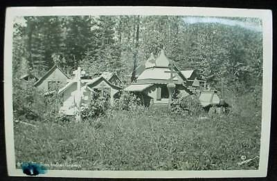 Robinson Photo Postcard Alaska Indian Graves Elmendorf
