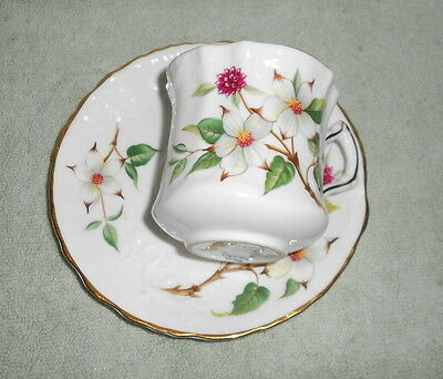 HAMMERSLEY Member Spode Group  Bone China Floral & Berries Tea Cup & Saucer