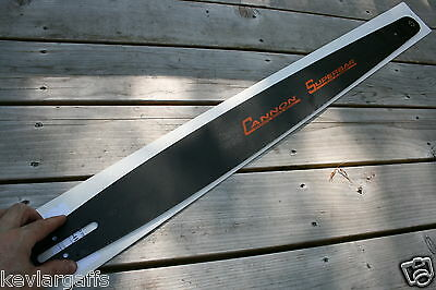 "NEW Cannon ""SUPERBAR"" Husqvarna mount 50 inch chainsaw bar 404 Pitch .063 Gauge"