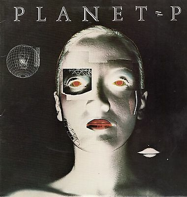 Planet P Vinyl LP Geffen Records 1983, GHS-4000, Self-titled ~ EX