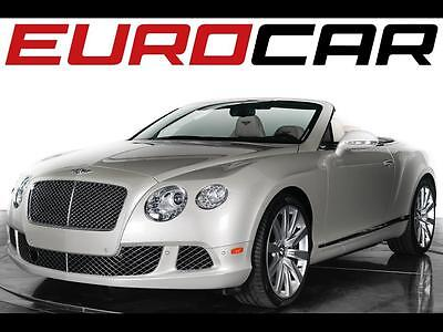 2013 Bentley Other GTC Convertible 2-Door 2013 Bentley Continental GTC - Mulliner Driving Specification, $231,610 MSRP