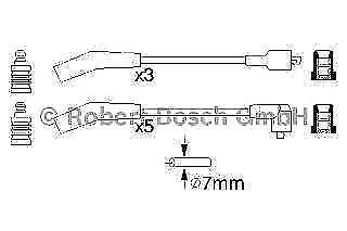 Ignition Leads Cable Kit 0986356819