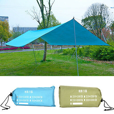 Waterproof Sun Shade Sail Outdoor Garden Patio Shelter Canopy Cover 98% UV Block