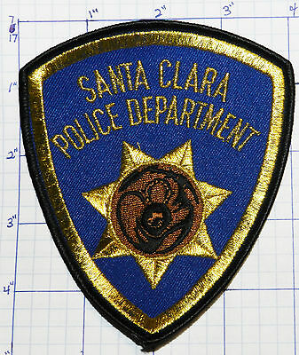 New Mexico, Santa Clara Police Dept Patch