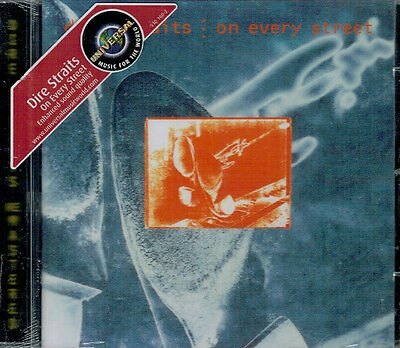 1/209 - Dire Straits - On every street - remastered - CD NUOVO