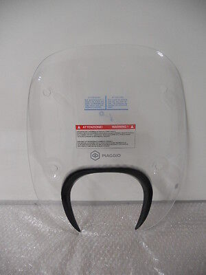 Piaggio Medley Clear Windscreen Shield Genuine New RRP £111.00!! 1B003245