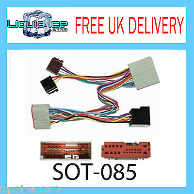 Sot-085 Ford Fusion 2002 - 2007 Iso Parrot Harness Adaptor Wiring Loom Lead