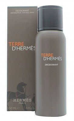 Hermes Terre D'hermes Deodorant Spray - Men's For Him. New. Free Shipping