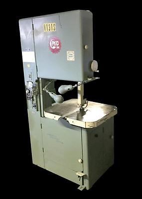 "Grob Ns24 24"" Vertical Band Saw W/ Blade Welder Multi Speed 2030 Fpm"