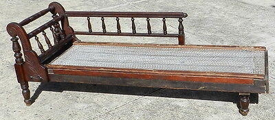Late Victorian / Edwardian Chaise Lounge