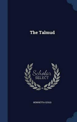 The Talmud by Henrietta Szold (English) Hardcover Book Free Shipping!