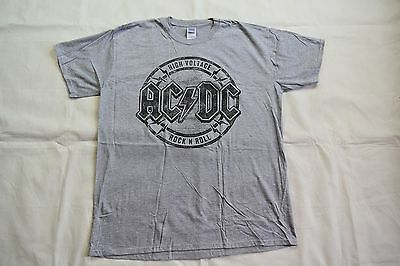 Ac/Dc High Voltage Rock N Roll T Shirt New Official Tnt Live Wire Angus Bon