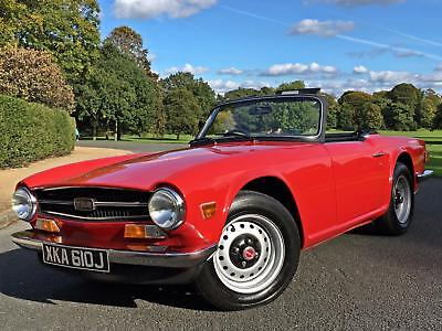 1970 Triumph TR6 UK CAR - 150 BHP - STUNNING