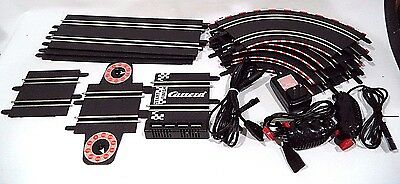 Carrera 1:43 Slot Car Track, AC Powered w/Adapter, Speed Controllers, Lap Counte