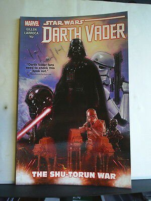 GRAPHIC NOVEL: STAR WARS - DARTH VADER - THE SHU-TORUN WAR - Paperback 2016 1st