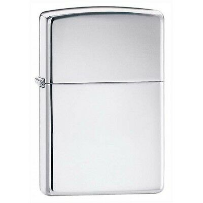 High Polished Chrome Zippo Pipe Lighter W/Pipe Insert 250PL