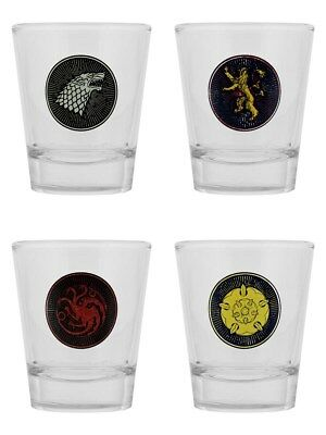 Game of Thrones Set GOT Shot Glass