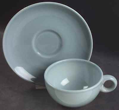 Iroquois Russel Wright CASUAL BLUE Cup & Saucer 6301973