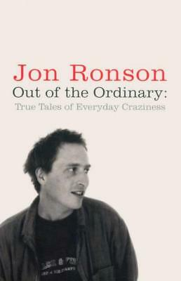 NEW Out of the Ordinary By Jon Ronson Paperback Free Shipping