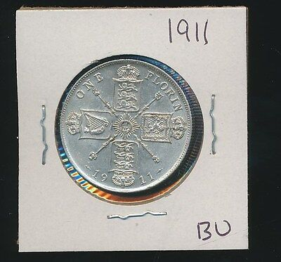 Great Britain  - Silver Florin - 1911 Uncirculated