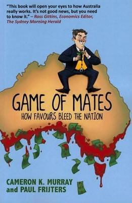 NEW Game of Mates By Cameron K Murray Paperback Free Shipping