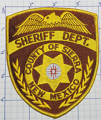 New Mexico, Sierra County Sheriff Dept Gold Patch
