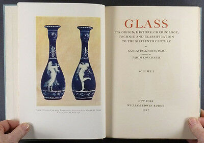 Ancient and Medieval Glass, 2-Volume Gustavus Eisen 1927 Limited Edition