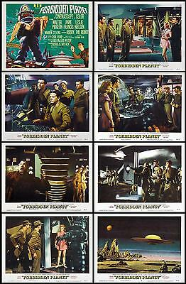 FORBIDDEN PLANET Complete Set Of 8 Individual 11x14 LC Prints 1956 SCI-FI
