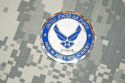 Challenge Coin US Air Force Paul W. Airey NCO Academy