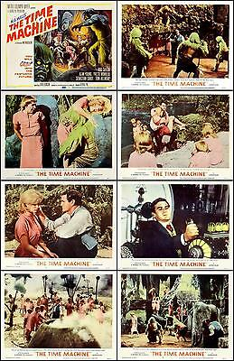 THE TIME MACHINE * complete set of 8 individual * 11x14 LC prints * 1960