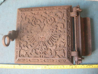 Antique the iron stove Door With Design end of 800/1 900