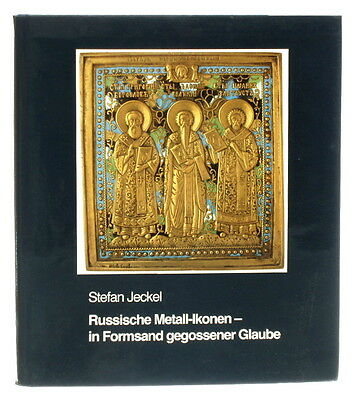 BOOK Russian Metal Icon medieval enamel art bronze cross antique Byzantine gold