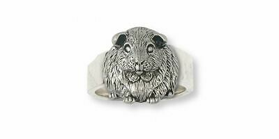 Guinea Pig Ring Jewelry Sterling Silver Handmade Piggie Ring GP1-R