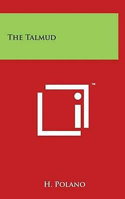 The Talmud by H. Polano (English) Hardcover Book Free Shipping!