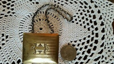 Antique Chatelaine Dance Opera Coin Box Purse