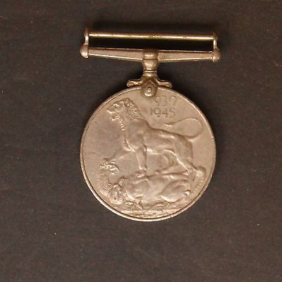1939 - 1945 George VI India Service Medal WWII - 854a1