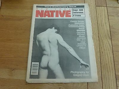 1983 Issue 78 New York Native Gay Newspaper Original Complete