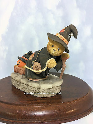 Cherished Teddies Griselda the Witch  2003  NIB  IC Chip Working